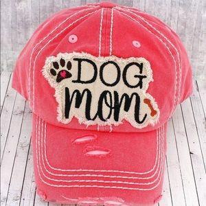 Accessories - Dog Mom Salmon Ball Cap